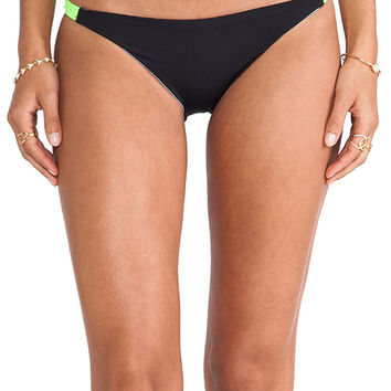Basta Surf Zunzal Bungee Bikini Bottom in Black