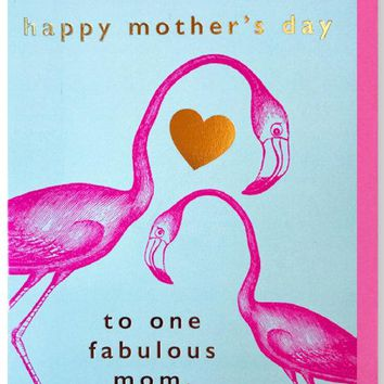 Mother's Day Flamingos
