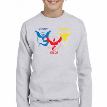 POKEMON GO TRIO TEAM Youth Sweatshirt