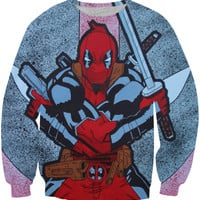 Deadpool splatter sweatshirt