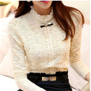 Women Lace Blouse