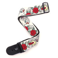 Planet Waves 20T03 Woven Guitar Strap, Dia de los Muertos