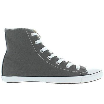 MDIGUG7 Converse All-Star Chuck Taylor Lite Hi - Charcoal Canvas Slim High Top Sneaker