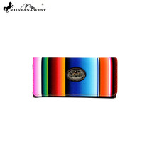 MW351-W002 Montana West Serape Collection Wallet