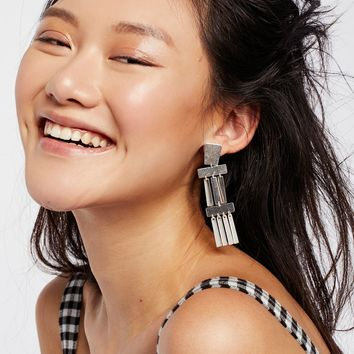 Free People Ibiza Plate Earrings