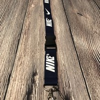 Dark Blue Nike Lanyard