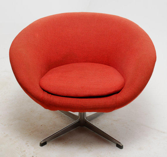 Mid Century Modern Overman Swivel Pod From RevolverSeattle On