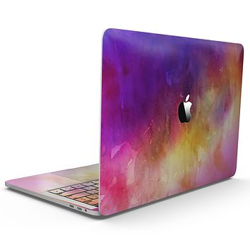 Grunge Absorbed Watercolor Texture - MacBook Pro with Touch Bar Skin Kit
