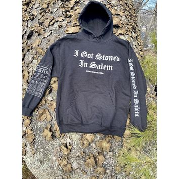 Stoned Inspiration Black Hoody