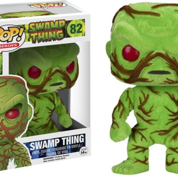 Swamp Thing Flocked Pop Vinyl Figure