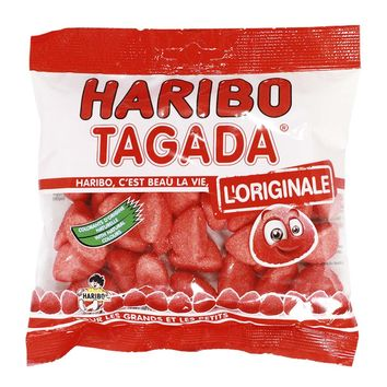 Tagada Strawberry Candy by Haribo, 4.2 oz (119 g)
