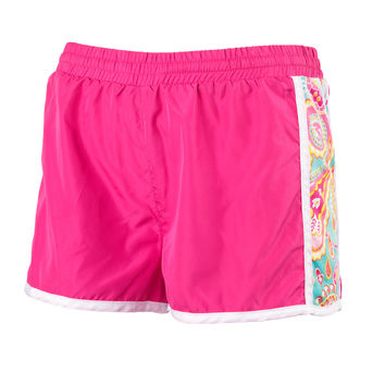 Summer Paisley Active Shorts- Size Small