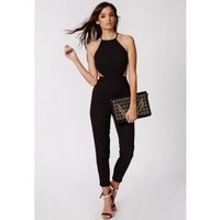 Strappy Cut Out Jumpsuit - Jumpsuits - Missguided