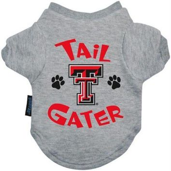 qiyif Texas Tech Red Raiders Tail Gater Tee Shirt
