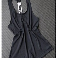 Running Vests Jogging JUST DO IT Women Gym Sports Sleeveless Shirts Tank Tops Fitness Running Clothes Loose Quick Dry Tops Vest Singlets KO_11_1