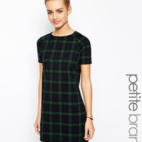 New Look Petite Check Tunic Dress
