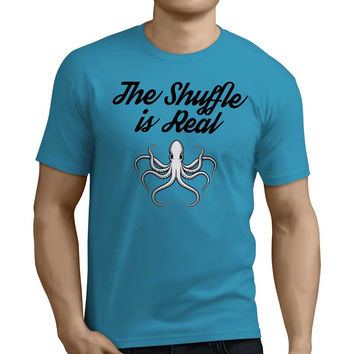 The Shuffle is Real Octopus Rave Shirt