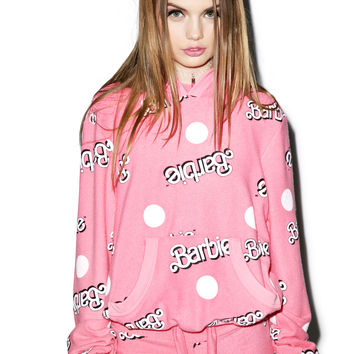 Wildfox Couture Everywhere Barbie Malibu Pullover Dusty Pink