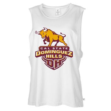 NCAA Cal State Dominguez Hills RYLCSD06 Women's Muscle Tee Shirt
