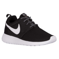Nike Roshe One - Women's - Casual Running Sneakers - Nike - Casual - Shoes - Women's - Black/White   Essentials   Lady Foot Locker