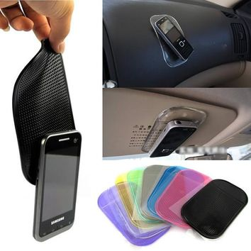 Anti-slip Sticky Pad In For Gadgets Accessory Phone Shelf Antislip Mat Gps Mp3 Cell Holder CAR Accessories Plastics