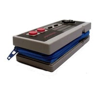 Nintendo Video Game Controller Zippered Wallet in Blue NES