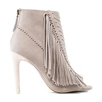 Joe's Jeans Ness Bootie in Taupe