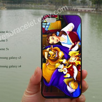 Beauty and the Beast iPhone 5 case,Disney iPhone 5C case,Iphone 5 cover,iPhone 5S case,Samsung Galaxy S3 S4,iPhone 4,iPhone 4S cover-355B