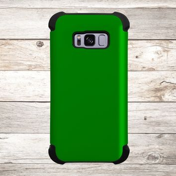 Solid Color Green for Apple iPhone, Samsung Galaxy, and Google Pixel
