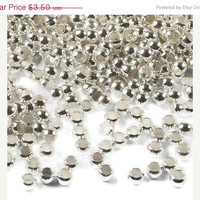3 mm Silver Plated Crimping Beads, 65 Pieces