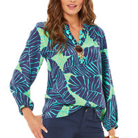 Lilly Pulitzer Elsa Top - Under The Palms