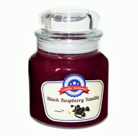 Black Raspberry Vanilla - Soy Blend Container Scented Candles
