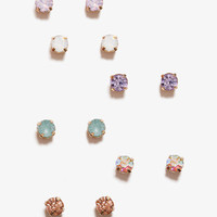 Set of Rhinestone Studs