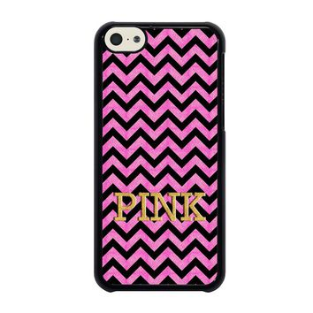 VICTORIA'S SECRET PINK CHEVRON iPhone 5C Case Cover