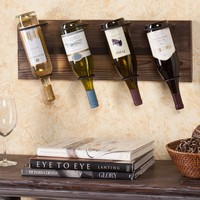 Southern Enterprises Napa Wall Mount Wine Rack | www.hayneedle.com