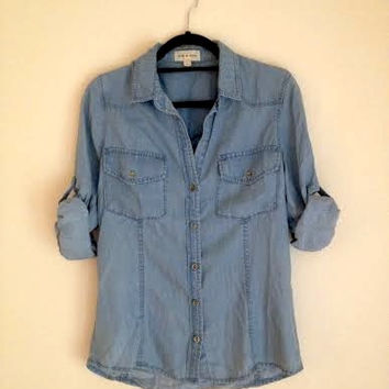 Chambray Shirt (Anthropologie)