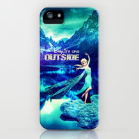 Baby, it's cold outside (Elsa Edition) - for Iphone iPhone & iPod Case by Simone Morana Cyla