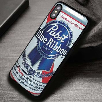 Beer Blue Ribbon Pabst Whiskey Winchester - iPhone X 8+ 7 6s SE Cases & Covers #iPhoneX