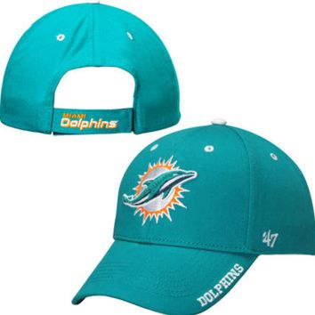739d1c080a6 Miami Dolphins Frost Adjustable Hat By  47 Brand