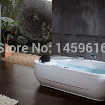 Sea Shipping Whirlpool Bathtub Acrylic +Abs Composite Board Piscine Massage Hot Tub W4010