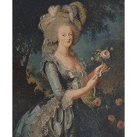 Marie Antoinette Portrait European Tapestry Wall Hanging