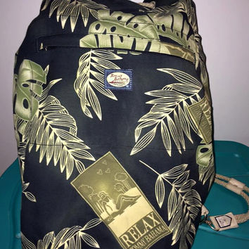 Sale!! Vintage TOMMY BAHAMA Relax Beach Duffle Backpack Bag
