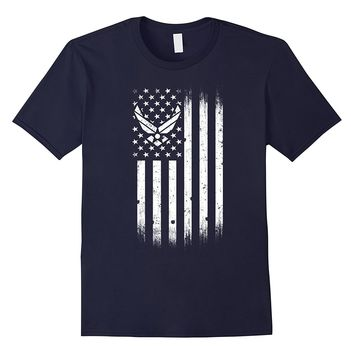 US Air Force American Flag Tshirt