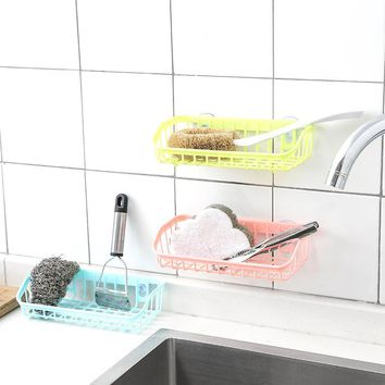 Handy Little Suction Bathroom Basket For Kitchen or Bath
