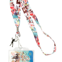Disney Peter Pan Neverland Lanyard