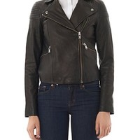 Sergeant leather jacket | Marc by Marc Jacobs | MATCHESFASHION...
