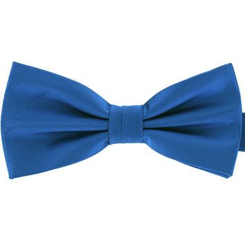 Tok Tok Designs Formal Dog Bow Tie for Large Dogs (B473, Off Blue)
