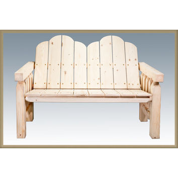 Montana Woodworks Homestead Deck Bench Clear Exterior Finish