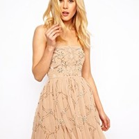 Needle & Thread Ornate Prom Dress at asos.com