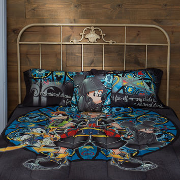 KINGDOM HEARTS BEDDING SET